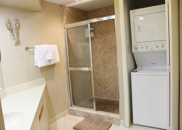 Washer&Dryer in Master Bathroom Closet