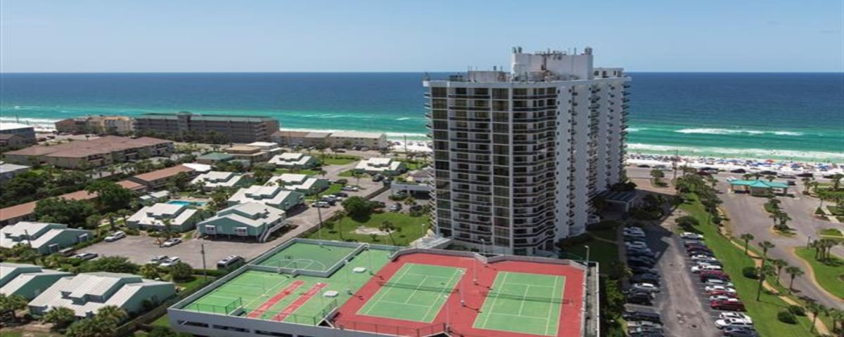 Arial view of Surfside.