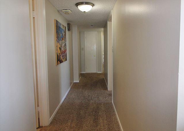 Hall between Bedrooms