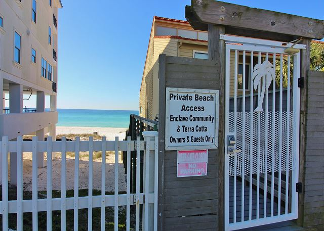 Private Beach Access