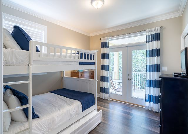 4th Bedroom with Bunk Beds and a Trundle