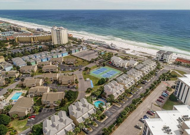 Aerial View of Beach Pointe