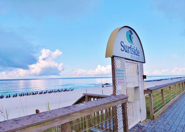 Private Beach Access at Surfside