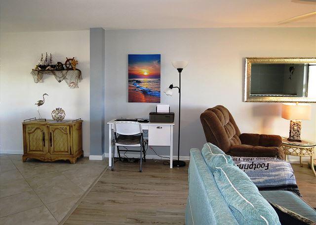 Office Area off Living Area