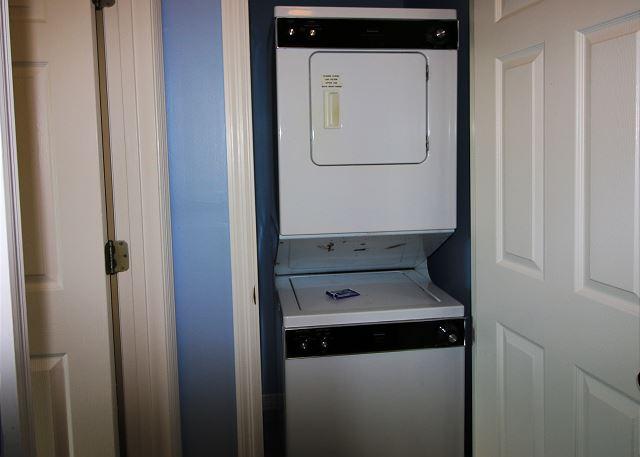 Laundry Closet in Hall