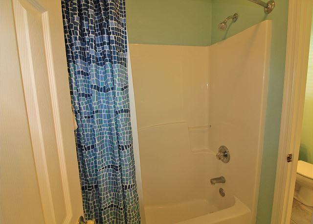 Tub with Shower for Half Baths