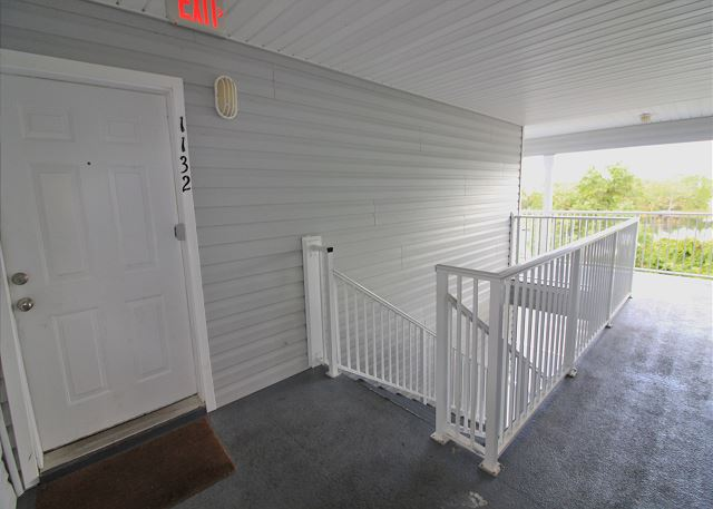 Front door to Condo