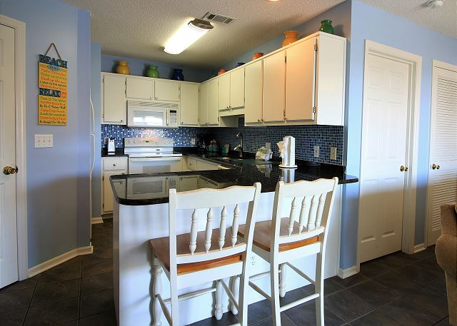 Kitchen and Dining Bar
