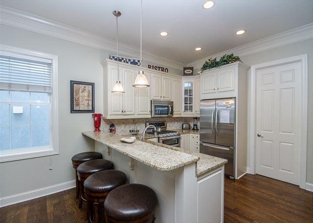 Kitchen Area, Bar Seats (4)