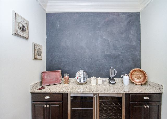 Blackboard Off Kitchen