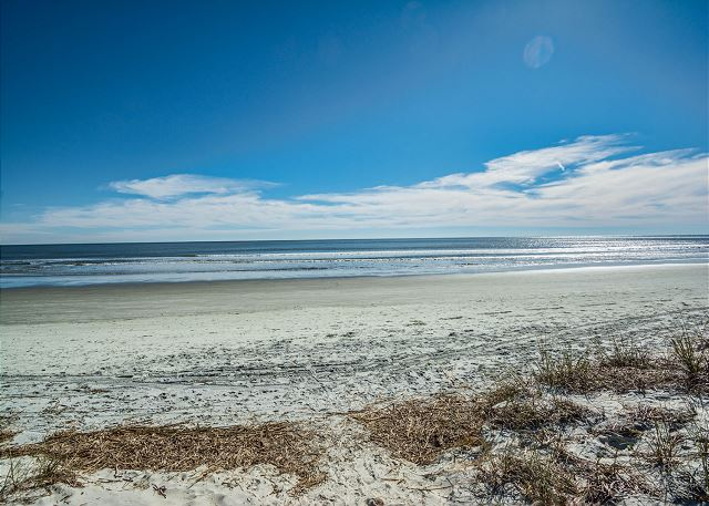 Enjoy the miles of beach Hilton Head Island has to offer