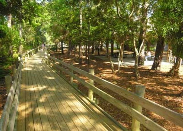 Boardwalk to Bradley Beach