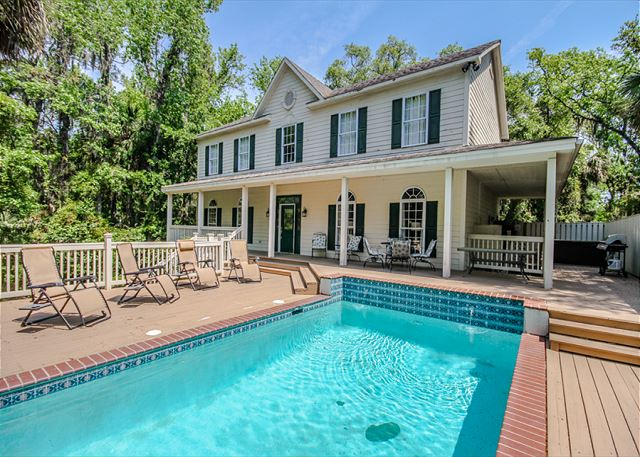 Bittern 11, 5 Bedrooms, Large Private Pool, Sleeps 14 - Welcome to Bittern 11  - HiltonHeadRentals.com