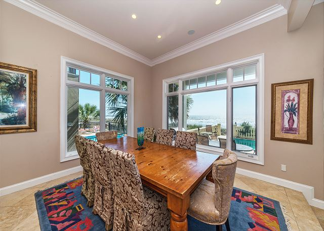 Singleton Beach 11A, Oceanfront 2 Bedrooms, Elevator, Pool - Fine Dining without Leaving Home  - HiltonHeadRentals.com