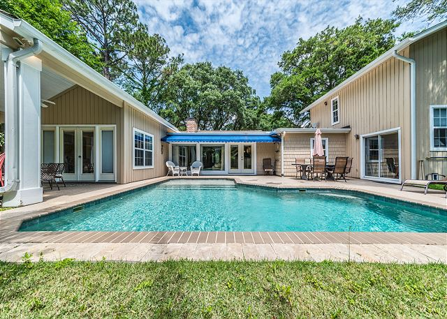 Folly Field 44-A, 3 Bedroom, Private Pool, Near Beach, Sleeps 6 Picture