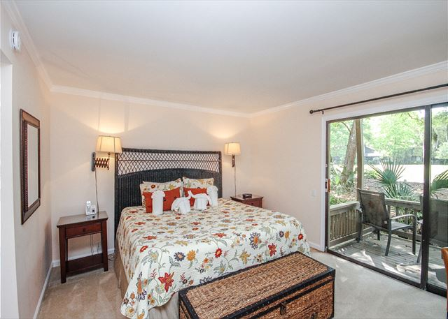 Pamper yourself in the master suite