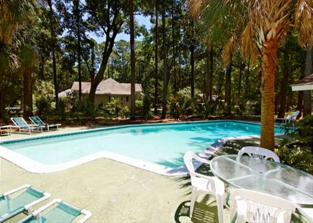 Port Au Prince 12, 3 Bedroom, Private Pool, Sleeps 8 - Pool Fun! - HiltonHeadRentals.com