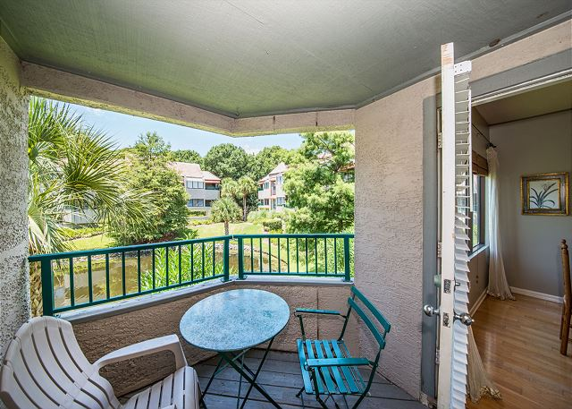 Anchorage 7411, 2 Bedroom, Lagoon View, Pool, Hot Tub, Sleeps 6 -  - HiltonHeadRentals.com