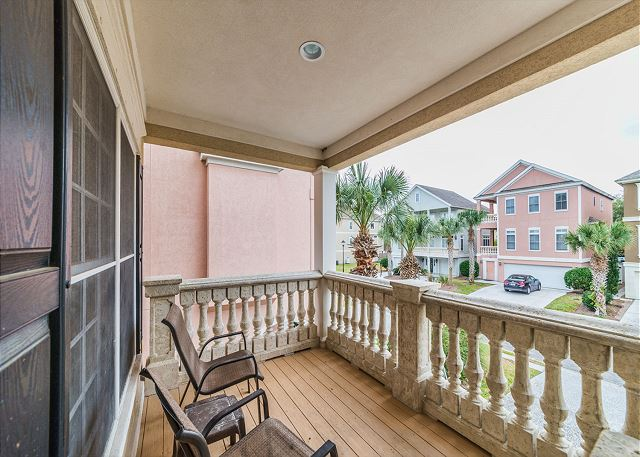 Crabline Court 32, Luxury 5 Bedrooms, Private Pool, Sleeps 12 - Balcony - HiltonHeadRentals.com