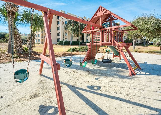 Kids will enjoy our playground.