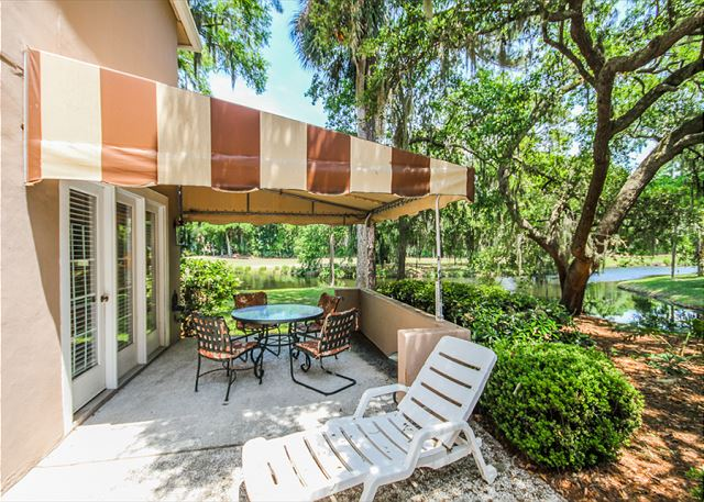 Evian 288, 3 Bedrooms, Golf & Lagoon View, Sleeps 8 -  - HiltonHeadRentals.com