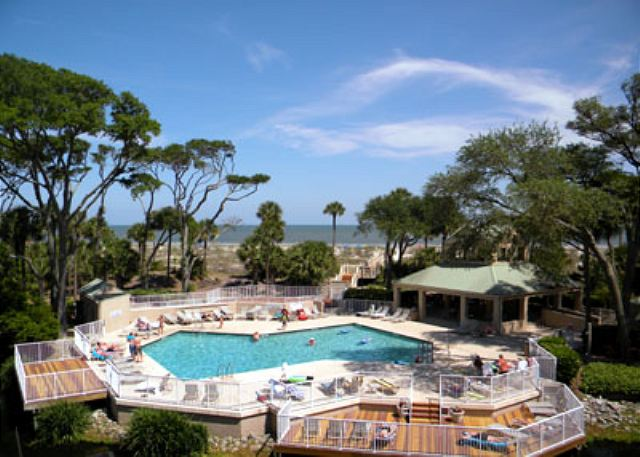 Barrington Arms 205, 3 Bedrooms, OceanView, Pool & Spa, Sleeps 8 - Great Views - HiltonHeadRentals.com