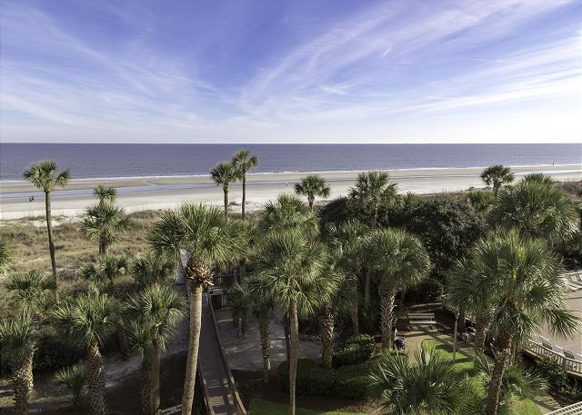 Captains Walk 424, 5 Bedrooms, Penthouse , Pool, Sleeps 12 - Views - HiltonHeadRentals.com