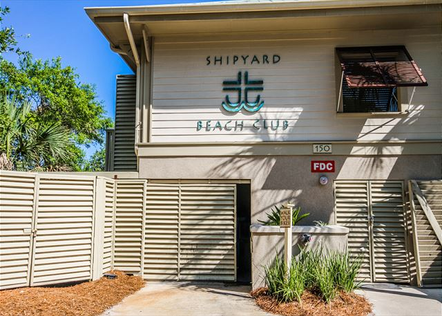 Evian 109, Updated 2 Bedrooms, Pool, Tennis, Sleeps 6 - Shipyard Beach Club - HiltonHeadRentals.com