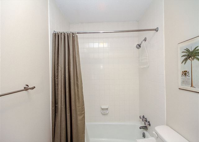 Evian 109, Updated 2 Bedrooms, Pool, Tennis, Sleeps 6 - Long Shower Or A Soak In The Tub? You Decide!  - HiltonHeadRentals.com