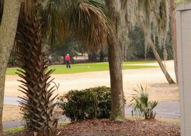 Greens 192, 1 Bedroom, Large Pool, Golf View, Sleeps 4 - Golf Course View - HiltonHeadRentals.com