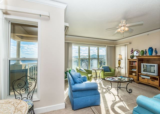 Hampton 6508, 3 Bedroom, Ocean Front View, Ocean Pool & Hot Tub - Views - HiltonHeadRentals.com