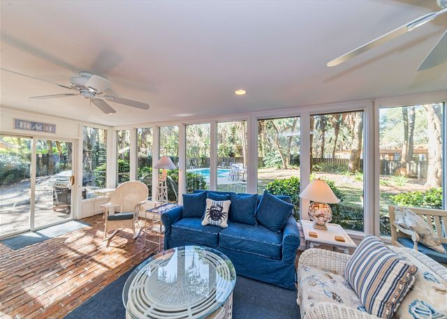 Hickory Lane 1, 6 Bedroom, Private Pool, Near Beach, Sleep 21 - South Carolina Room - HiltonHeadRentals.com