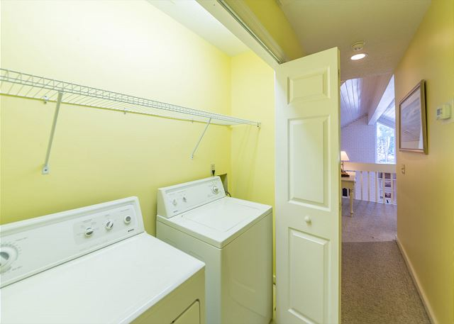 Hickory Lane 1, 6 Bedroom, Private Pool, Near Beach, Sleep 21 - Laundry Room - HiltonHeadRentals.com