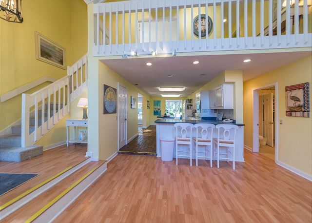 Hickory Lane 1, 6 Bedroom, Private Pool, Near Beach, Sleep 21 - Snack Bar - HiltonHeadRentals.com