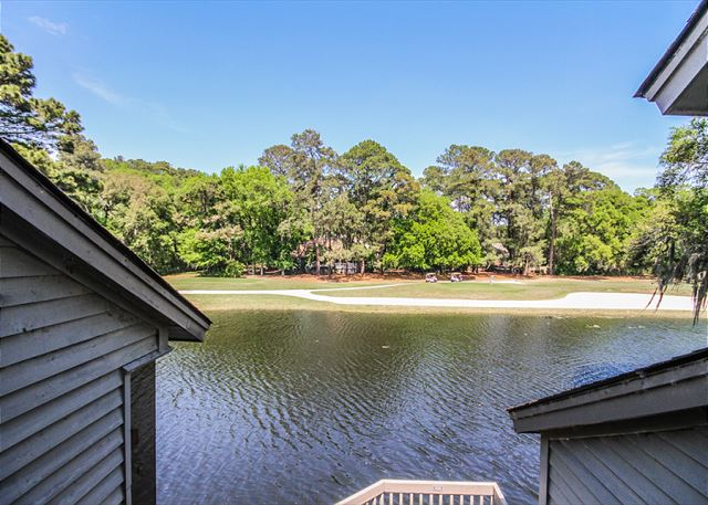 Inland Harbour 2429, 2 Bedrooms, Golf View, Pool, Sleeps 8 - Take in the nature around you - HiltonHeadRentals.com