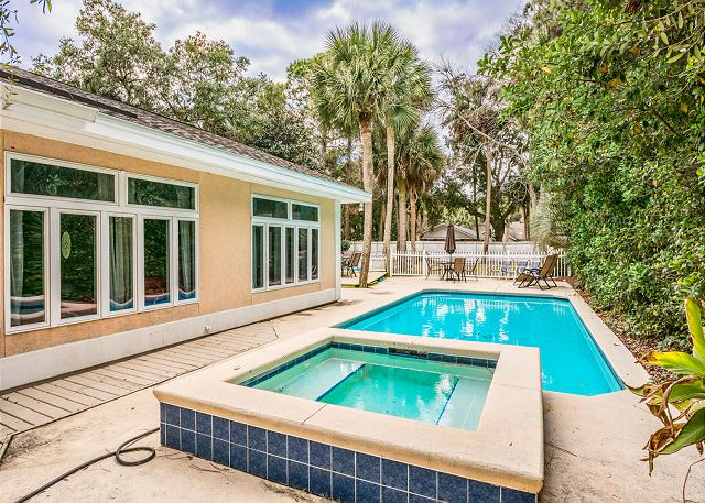 Myrtle Lane 1, 5 Bedroom, Private Heated Pool & Spa, Sleeps 12 -  - HiltonHeadRentals.com