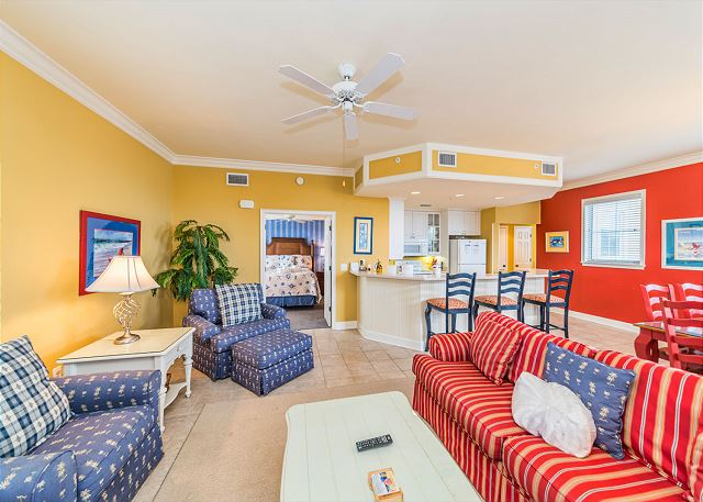 North Shore 401 Penthouse 3 bedroom, Rooftop Pool, Walk to Beach - Gather Round' - HiltonHeadRentals.com