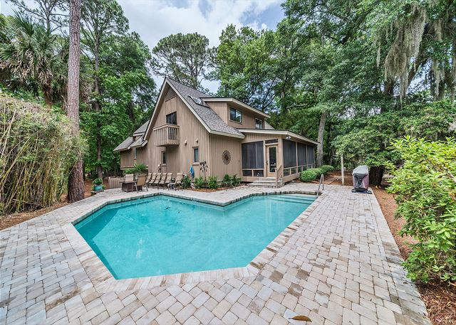 North Sea Pines Drive 23, 4 Bedroom, Private Pool, Sleeps 12 Picture