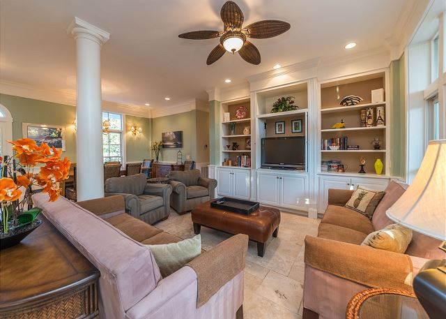 Roadrunner 2, 6 Bedrooms, Private Pool, Spa, OceanView, Elevator - Perfect Family Accommodation - HiltonHeadRentals.com