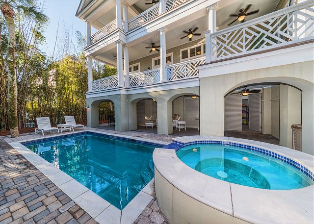 Roadrunner 2, 6 Bedrooms, Private Pool, Spa, OceanView, Elevator - Come on In! - HiltonHeadRentals.com