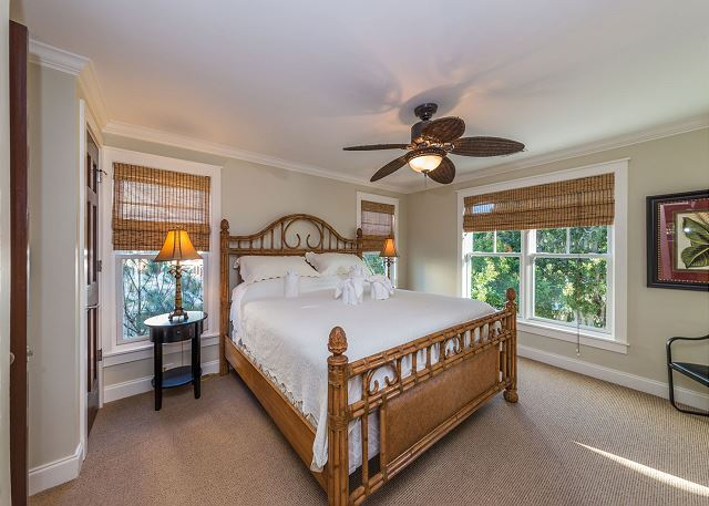 Roadrunner 2, 6 Bedrooms, Private Pool, Spa, OceanView, Elevator - Why should there only be one Master bedroom? - HiltonHeadRentals.com