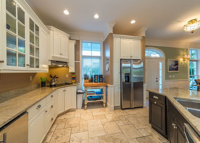 Roadrunner 2, 6 Bedrooms, Private Pool, Spa, OceanView, Elevator - Bring Your Favorite Recipes And Groceries! - HiltonHeadRentals.com
