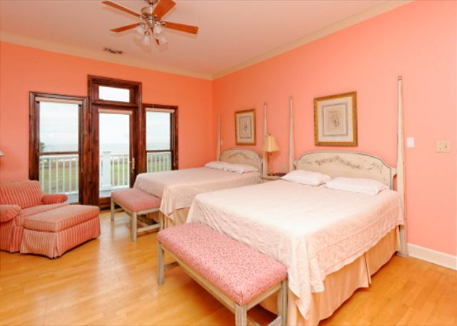Pink Decor and Comfy Beds