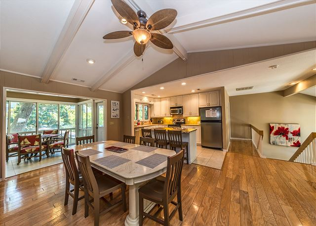 Surf Scoter 20, 4 Bedrooms, Private Pool WiFi, Sleeps 14 - What's for Dinner? - HiltonHeadRentals.com