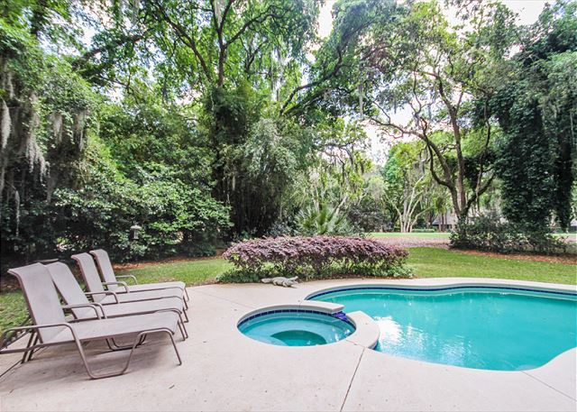 Turnberry Lane 30, 4 Bedrooms, Private Pool, Spa, Sleeps 12 - Private Pool - HiltonHeadRentals.com