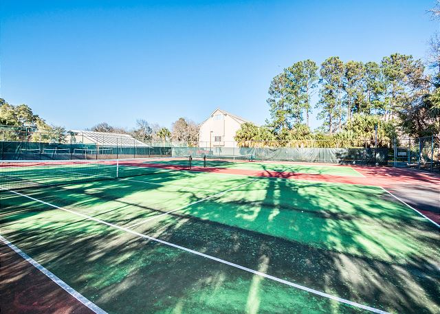 Make sure to keep up the tennis practice! -