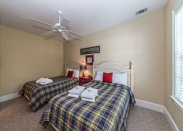 Double beds in this bedroom