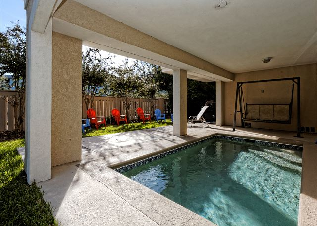 Crabline Court 25, 5 Bedroom, Private Pool, Sleeps 12 - Crabline 25 - HiltonHeadRentals.com