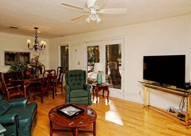 Port Au Prince 12, 3 Bedroom, Private Pool, Sleeps 8 - Can't decide between a game of cards or a movie? - HiltonHeadRentals.com