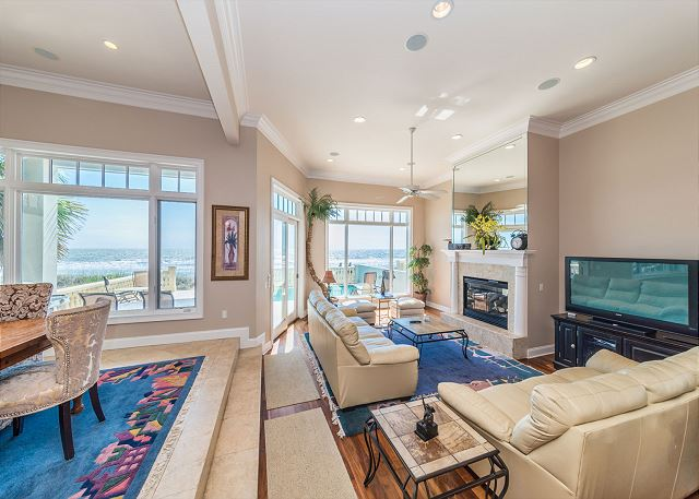 Singleton Beach 11A, Oceanfront 2 Bedrooms, Elevator, Pool - You have arrived! Let's get this vacation started! - HiltonHeadRentals.com